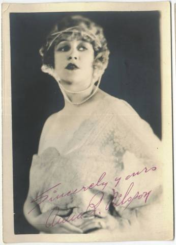 1920's Anna Q. Nilsson 5x7 Fan Photo