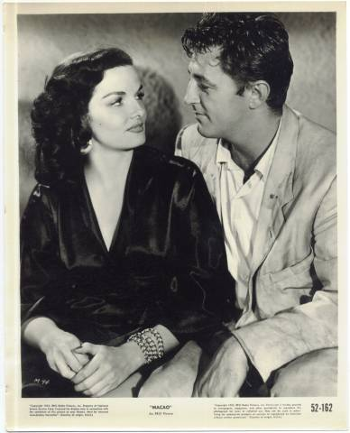 Jane Russell & Robert Mitchum Publicity Photo