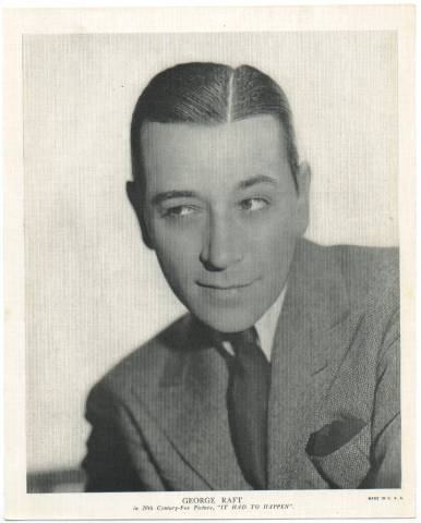 1936 R95 George Raft Linen Premium Photo