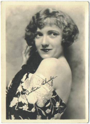 Constance Talmadge 5x7 Fan Photo