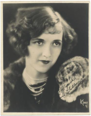 Constance Talmadge Large Fan Photo