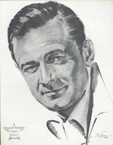William Holden Best Actor Oscar Winner Stalag 17