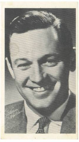William Holden 1950's Paper Premium