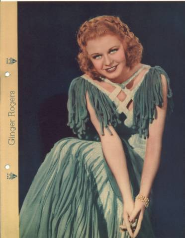 1930's Ginger Rogers Dixie Lid Premium