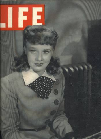 December 9, 1940 issue of LIFE Magazine with Ginger Rogers on Cover
