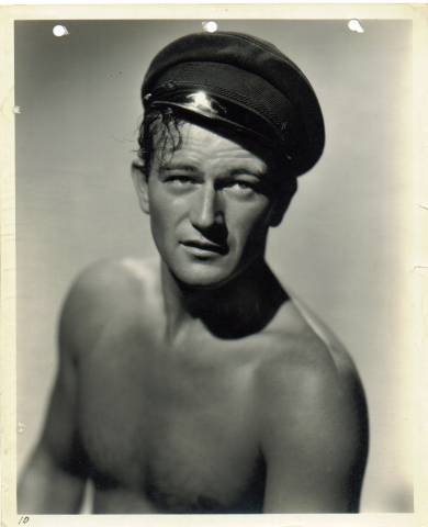 Vintage John Wayne Keybook Photo