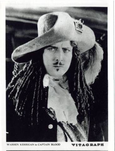 Photo of J. Warren Kerrigan as Captain Blood