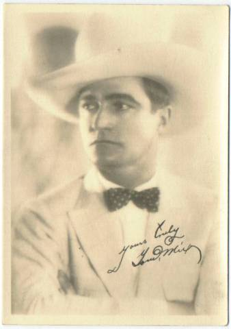 1920's Tom Mix 5x7 Fan Photo