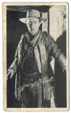 1917 Kromo Gravure William S Hart Trading Card