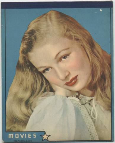 Veronica Lake Writing Tablet