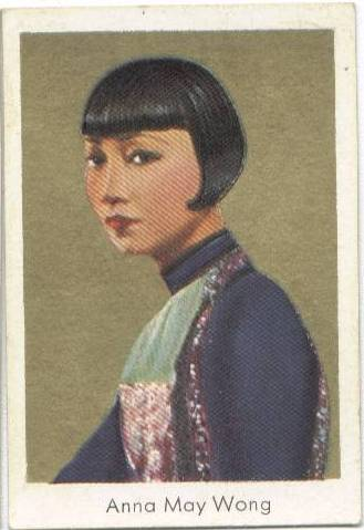 1934 Salem Anna May Wong tobacco card