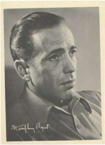 1946 Humphrey Bogart Motion Picture Magazine Premium Photo