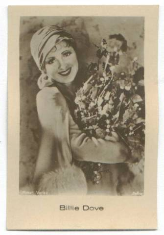 1931 Billie Dove Jasmatzi Tobacco Card
