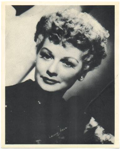 1950's Star Premium Lucille Ball