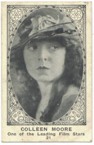 1922 American Caramel card featuring Colleen Moore