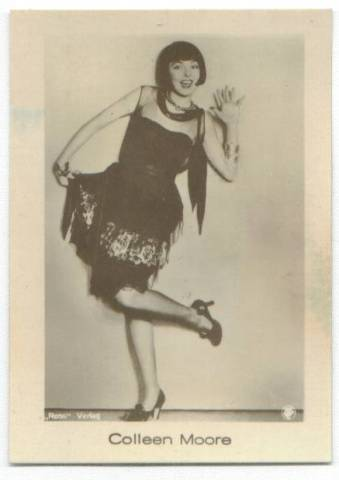1931 Jasmatzi Tobacco Card featuring Colleen Moore