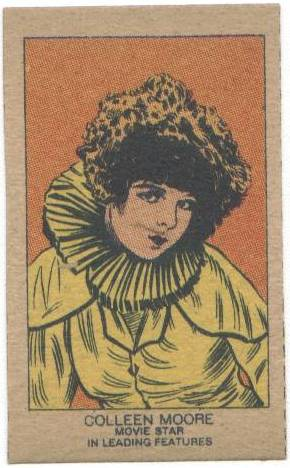 1920's Strip Card featuring Colleen Moore