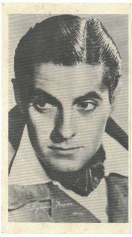 1950's Tyrone Power Paper Premium