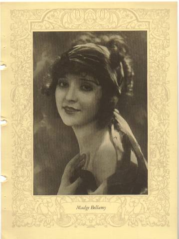 1923 MPDA Page featuring Madge Bellamy