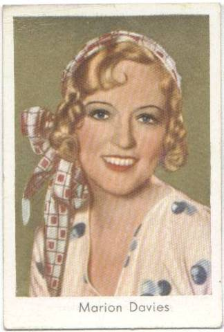 1934 Marion Davies Salem Tobacco Card