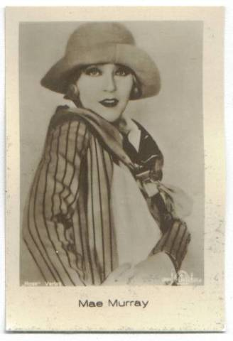1931 Jasmatzi Mae Murray German Trading Card