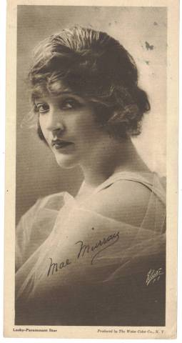 1916 Mae Murray Water Color Company Premium