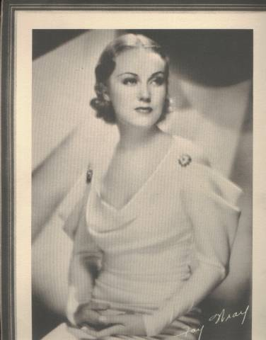 1934 Fay Wray Lux 9x12 Premium Photo