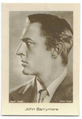 featuring john barrymore