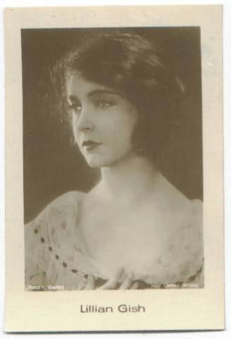 1931 Jasmatzi German Tobacco Card of Lillian Gish