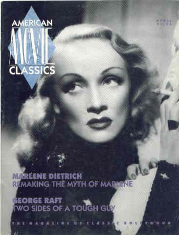 AMC Magazine with Classic Marlene Dietrich cover