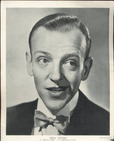 Fred Astaire - 1936 R95 Linen Premium Photo