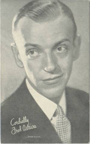 Fred Astaire - 1940 Made in USA Arcade Card