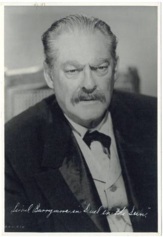 1946 Lionel Barrymore in Duel in the Sun 5x7 Promotional Photo