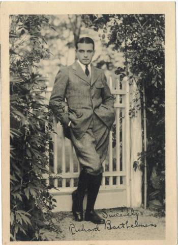 Early Richard Barthelmess 5x7 Fan Photo from the 1910s