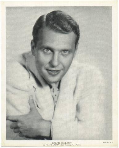 Ralph Bellamy in 1936