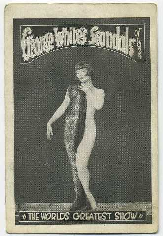 1924 Louise Brooks George Whites Scandals Trading Card