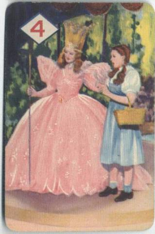Billie Burke in the 1939 Wizard of Oz Card Game