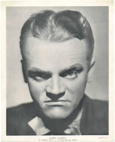 1936 R95 James Cagney 8x10 Linen Premium