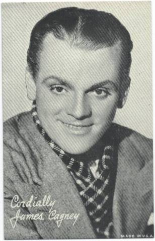 1940 James Cagney Made in USA Arcard Card