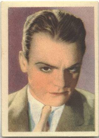 1930's James Cagney Editorial Bruguera Card/Premium