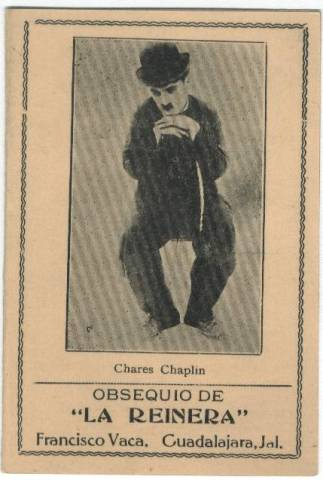 1920's-30's Mexican Needle Book featuring Charlie Chaplin
