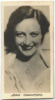 1932 Joan Crawford Abdulla Cinema Stars Tobacco Card
