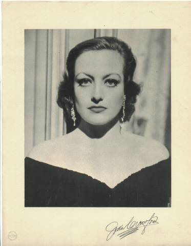 1933 Joan Crawford MGM Promotional Portrait