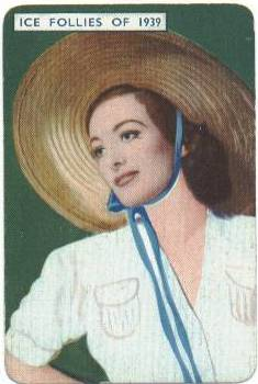 1939 Joan Crawford Film Fantasy Game Card