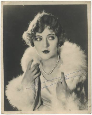 1920's Marion Davies 8x10 Large Fan Photo