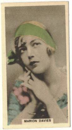 1934 Marion Davies Cavenders Tobacco Card