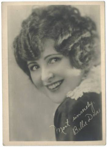 1920's Billie Dove 5x7 Fan Photo