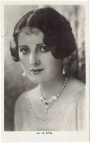 1920's Billie Dove Picturegoer Postcard