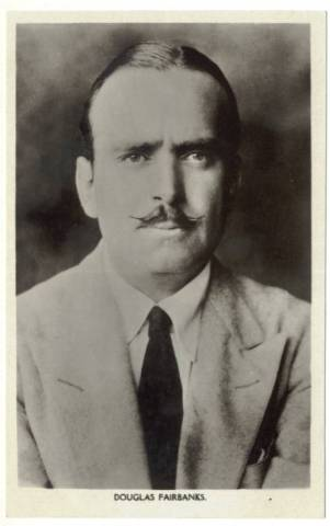 1920's Douglas Fairbanks Picturegoer Postcard #126a