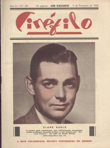 Early 1932 Clark Gable Magazine